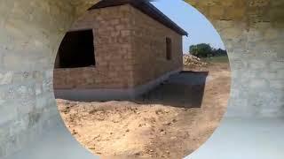 Дом из ракушечника от Арболит Юг, монтаж кровли и утепление эковатой. Строительство в Крыму.