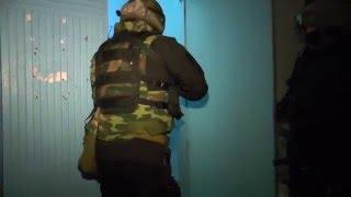 Задержание убийцы - работает СОБР в ЗАТО Озерск