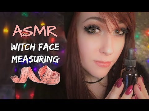 ASMR Witch Face Measuring