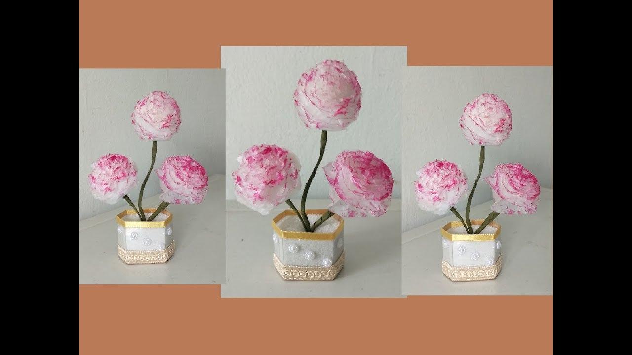 Origami Simple Rose Flower Prison Break Instructions In English
