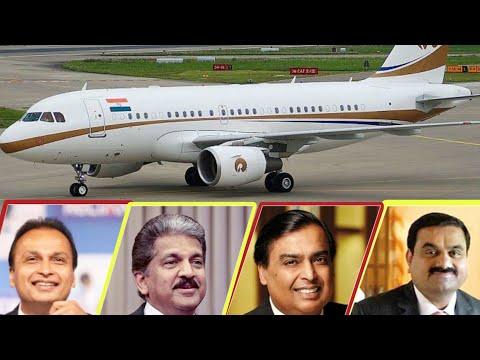 India Top Businessman And Their Private Jet 2020. (  Ambani , Adani , TATA ,Mahindra & More)