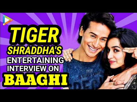 Tiger Shroff | Shraddha Kapoor | BAAGHI | Full Interview | Quiz | Rapid Fire