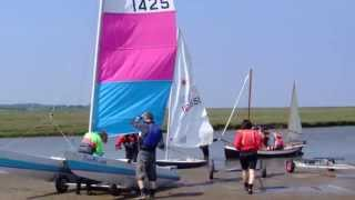 RYA Push the Boat Out 18 May 2014, Blakeney