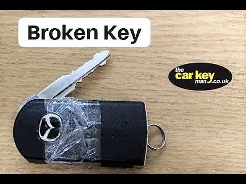 FIX Mazda key repair broken Flip
