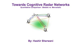 UCL Radar Group Seminar Hashir Sherwani 27th March 2015