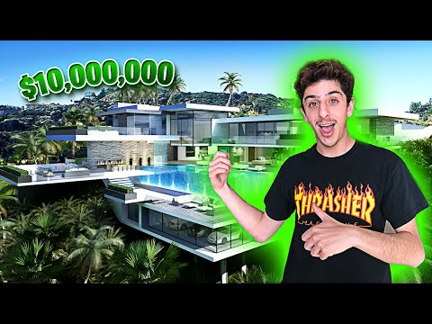 THIS MIGHT BE MY NEW HOUSE!! (INSANE)