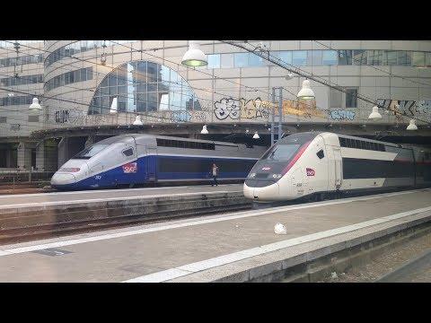 A bord du TGV n°8086 de Laval à Paris Montparnasse - 26/08/2017