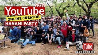 2018 YouTube HANAMI |J-VLOGGERS / ONLINE CREATORS| Tokyo Japan