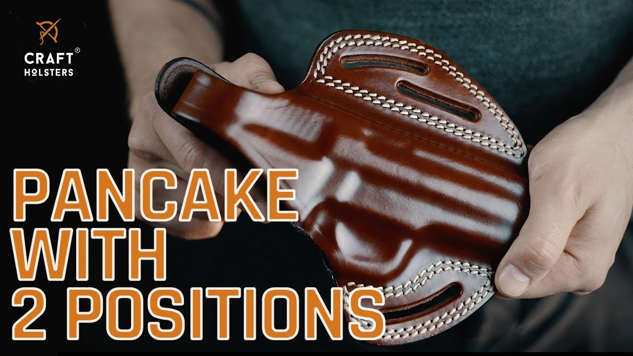OWB Pancake Holster w  2 Positions l Craft Holsters Review