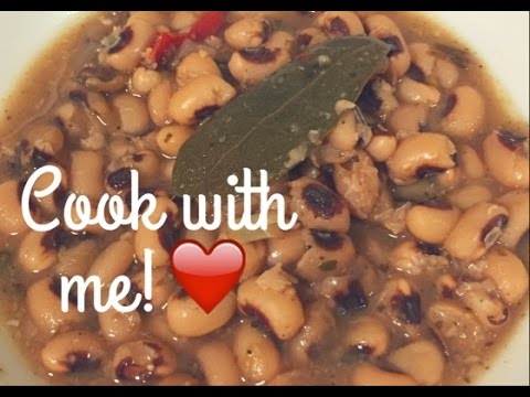 Vegan Black Eyed Peas Recipe + 3 Reasons To Go Vegan This Year! | Vegan Soul Food
