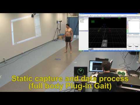 Biomechanics motion capture demo