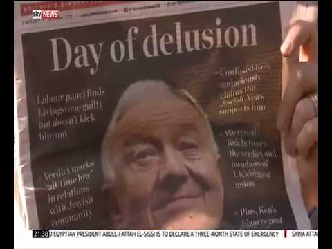 Jewish News on Sky News report about Ken Livingstone