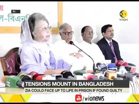 Bangladesh on high alert; Ex-PM Khaleda Zia's corruption trial to be held today