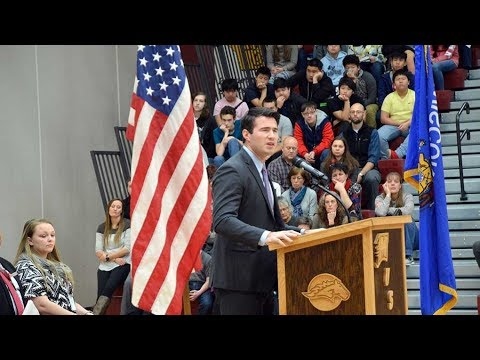 2018 Veteran's Day Program at Menomonie High School