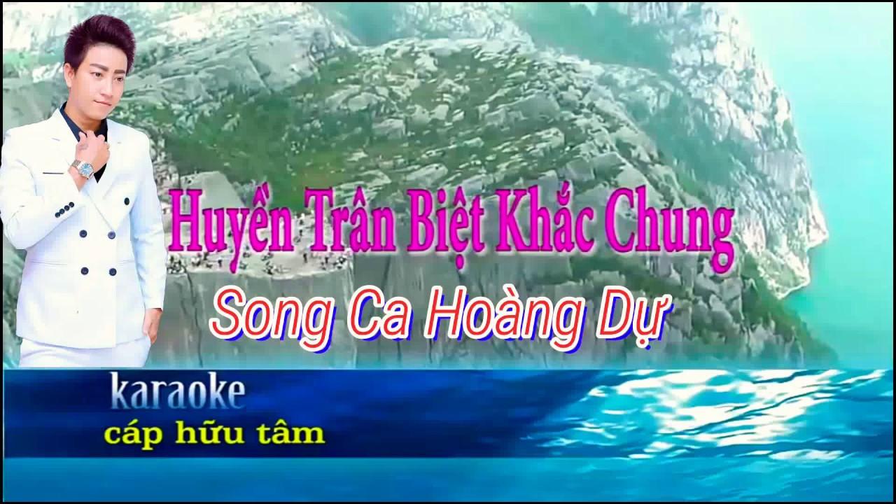 Karaoke huyền trân biệt khắc chung. Song ca với Hoàng dự