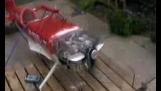 3w 4 cylinder 160cc engine first run