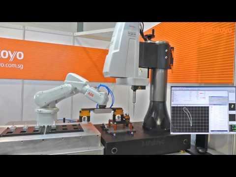 Mitutoyo Kogame with ABB Robot Arm