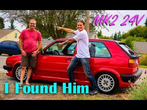 MK2 Golf GTI * I found the original owner * VR6 24V