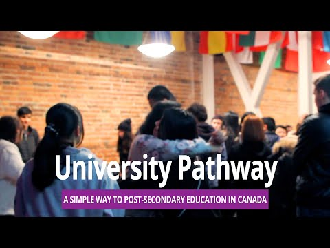 The Best Way To Go To College Or University In Canada And The US L UNIVERSITY PATHWAY PROGRAM