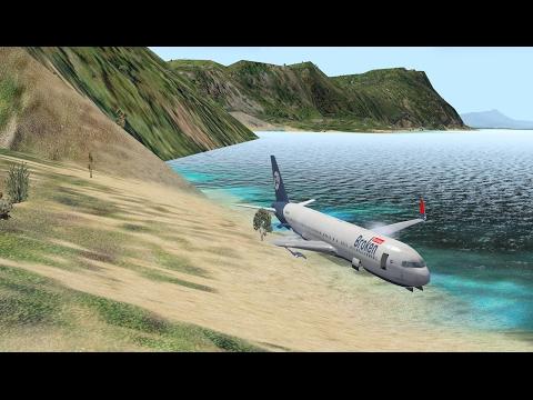 """Поплаваем?"" Boeing 767-300 (FF) для X-Plane"