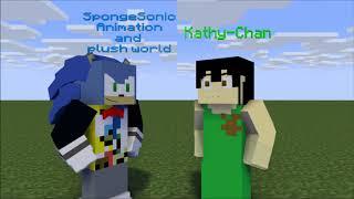 SpongeSonic meets Kathy Chan Speed Animation