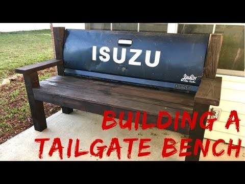 How To Tailgate Bench