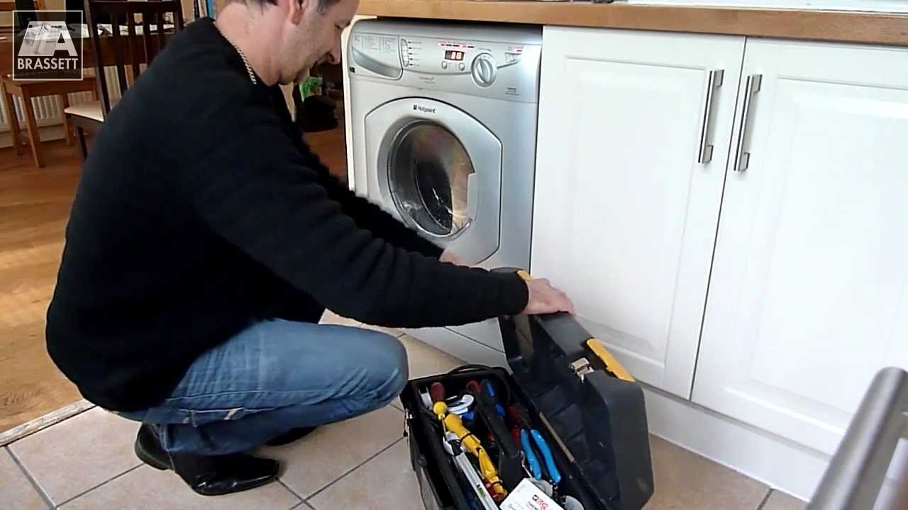 Hotpoint Washing Machine Spares hotpoint washing machine repair - not draining properly - bromley