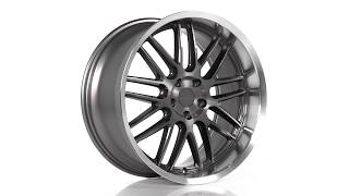 TSW Alloy Wheels - Avalon in Gunmetal w/ Brushed Gunmetal Face & Machined Lip