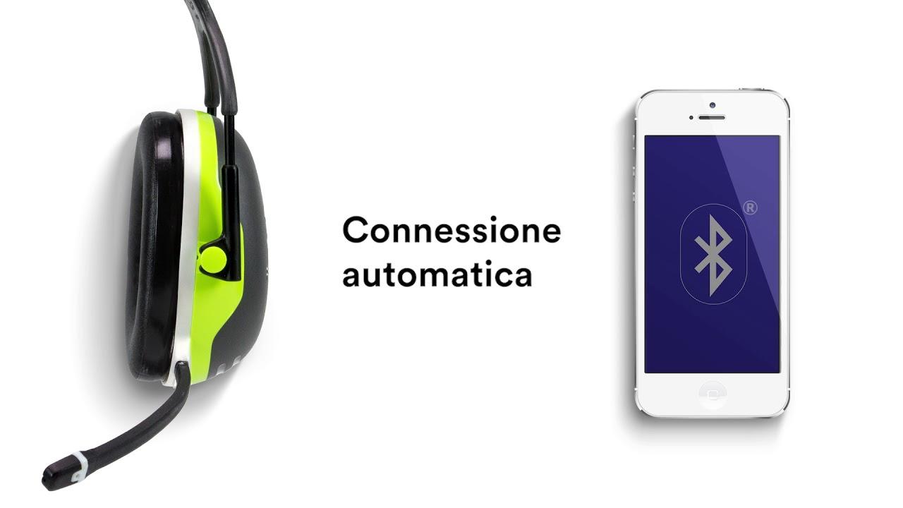 M™ peltor™ sistema di comunicazione wireless per cuffie serie x