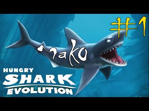 Hungry Shark Evolution #1 Mako Shark Gameplay