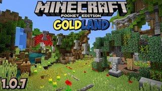 Обзор Сервера GoldLand для Minecraft PE 1.0.7 | SkyWars!