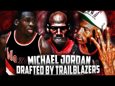 What If - Michael Jordan Went To The Trailblazers In The 1984 NBA Draft?