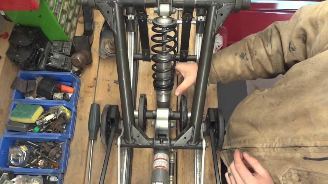 Yamaha Apex Idler Wheel Replacement