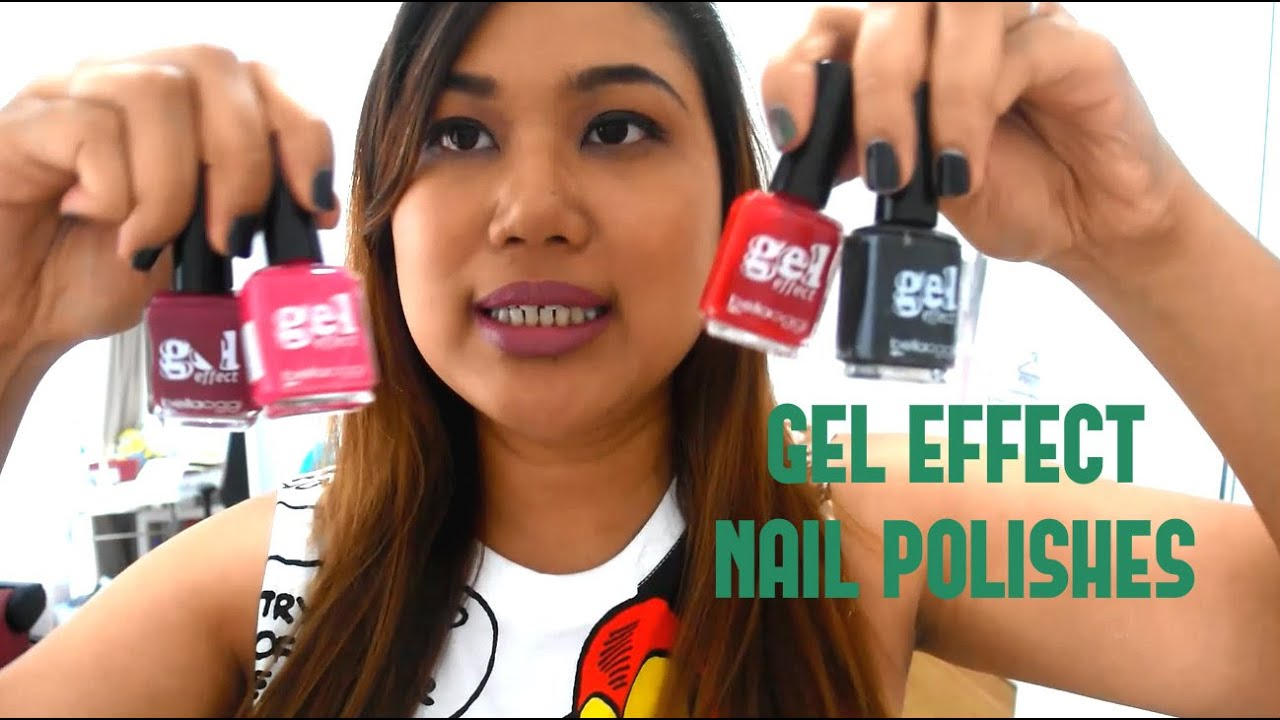 Gel Effect Nail Polishes - The Best & Worst - YouTube