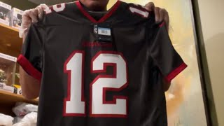 Unboxing Tom Brady Tampa bay buccaneers jersey #TomBrady ...