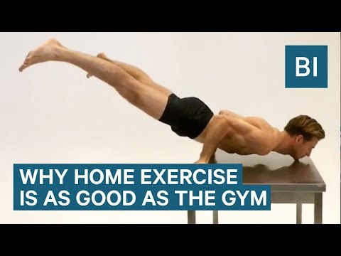 A Fitness Coach Explains How Exercising At Home Can Be As Good As A Gym