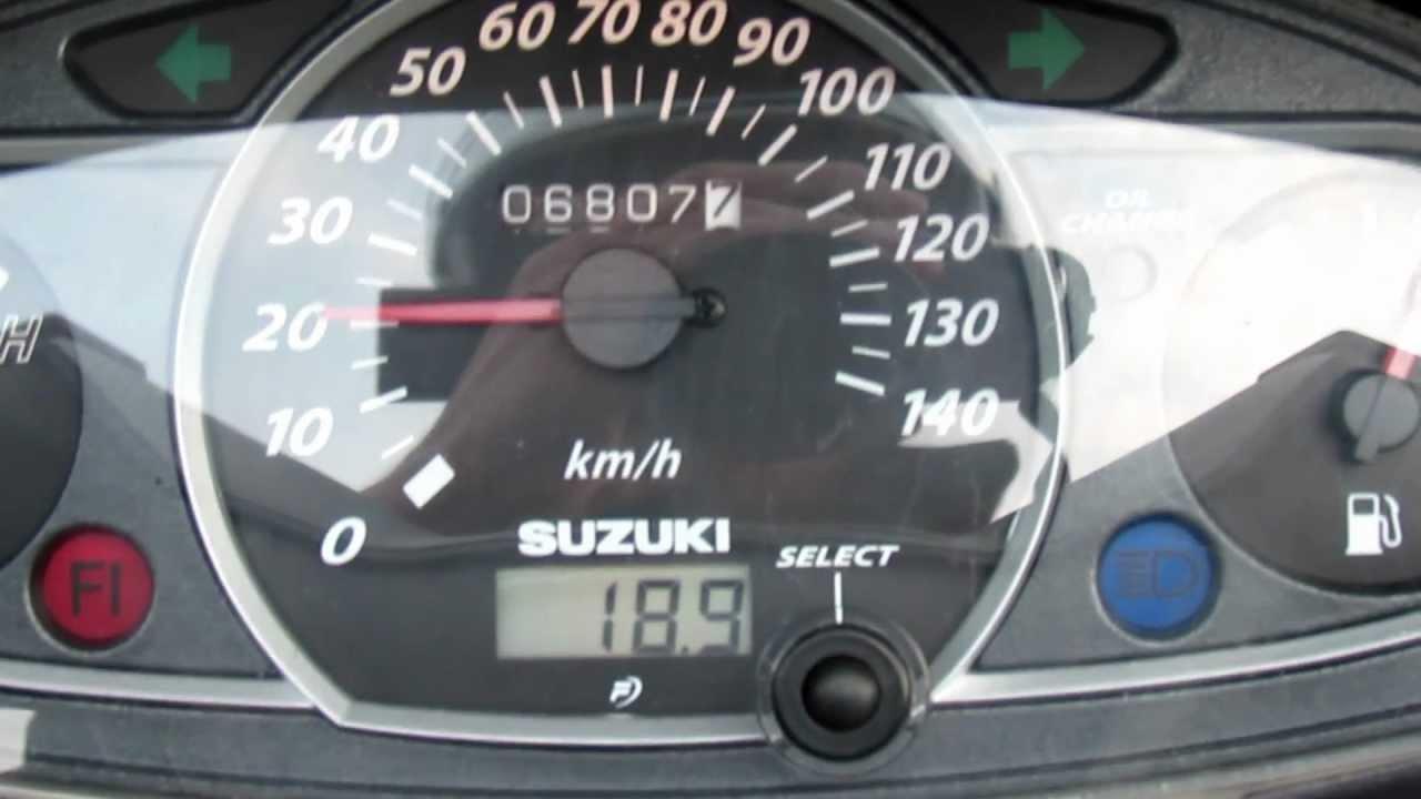 0 100 Suzuki Burgman UH 125 K7 Acceleration YouTube