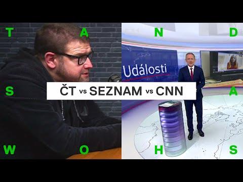 Šídlo srovnává Českou televizi, Seznam zprávy a CNN Prima News (bonus z Patreonu)