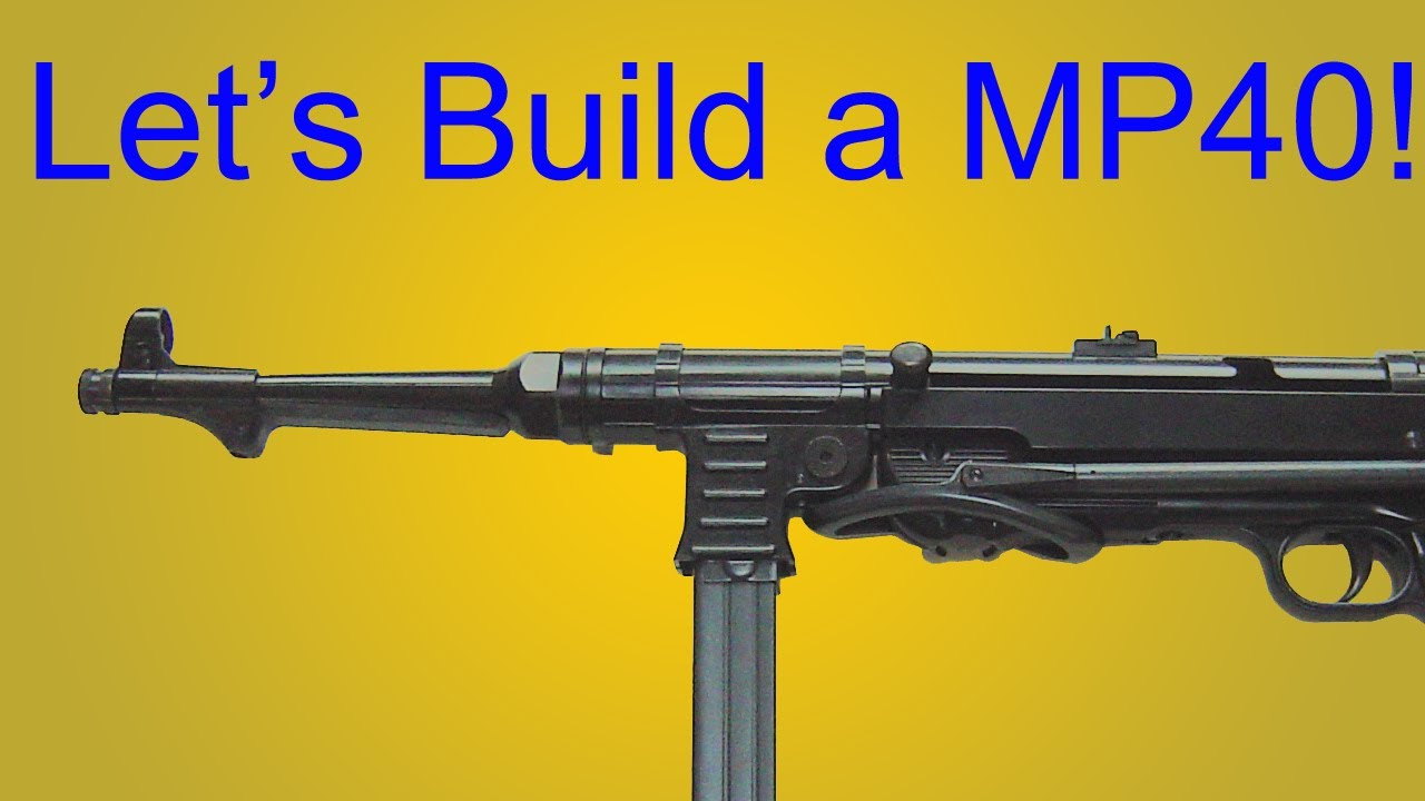 How to Make a Prop MP40 for Under 5 00$!