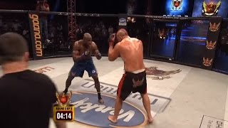 Bobby Lashley vs James Thompson | SFL - 3 | Battle Of Beasts