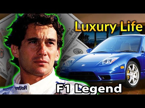 Ayrton Senna Luxury Lifestyle | Bio, Family, Net Worth, Earning, House, Cars