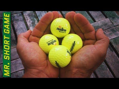 The Best Golf Ball – RealLine vs Pro V 1