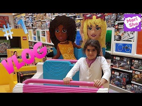 Or #1 Vlogeri shabat Dubayum   Mall of the Emirates   McDONALD'S EMOJI MOVIE HAPPY MEAL   LEGO Shop