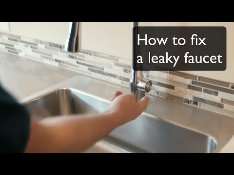 How To Fix A Leaky Faucet Single Handle Faucet By Kohler