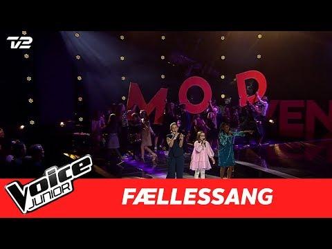"Fællessang | ""Cheap Thrills"" Af  Sia | Finale | Voice Junior 2017"
