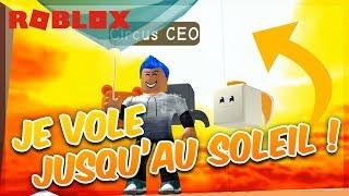 JE VOLE JUSQU'AU SOLEIL ! - Roblox Balloon Simulator