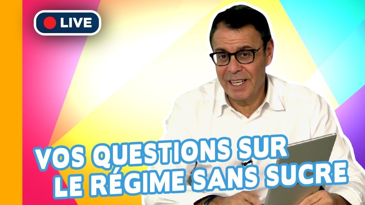 Vos questions sur le régime sans sucre - Jean-Michel Cohen en direct à 20h jeudi 07 mars.
