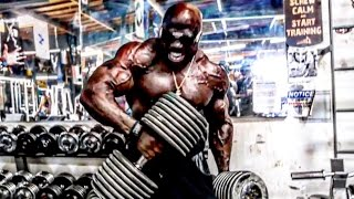 200 lb dumbbell curl   arm insanity w kali muscle