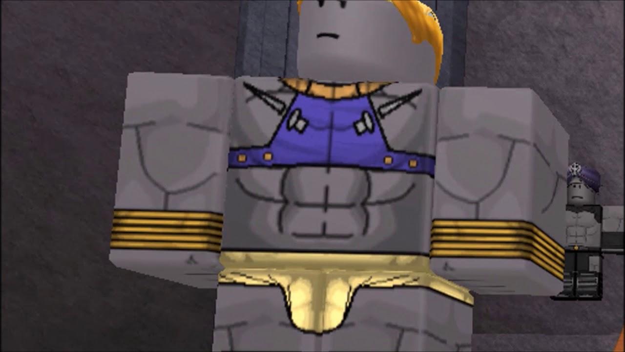 Jojo's Bizzarre Adventure: Pillar Men Awaken scene but it's Roblox