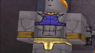 Jojo's Bizzarre Adventure: Pillar Men Awaken scene but it's Roblox
